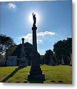 Calvary Catholic Cemetery Metal Print