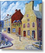 Calvet House Old Montreal Metal Print
