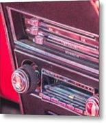Camaro Controls Metal Print