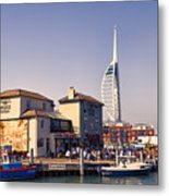 Camber Dock, Old Portsmouth Metal Print