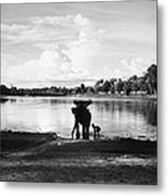 Cambodia: Angkor, 1960 Metal Print