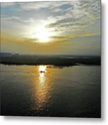 Cambodian Sunsets 3 Metal Print