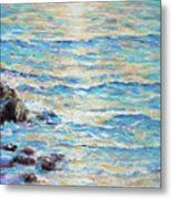 Cambria Rocks Metal Print