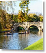 Cambridge 4 Metal Print