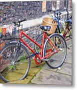Cambridge Bikes 1 Metal Print