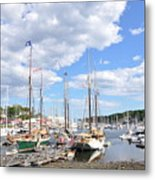 Camden Maine Harbor Metal Print