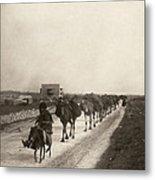 Camel Caravan, C1911 Metal Print