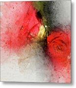Camellia Burst Metal Print