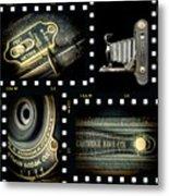 Camera Collage-2 Metal Print