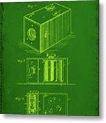 Camera Patent Drawing 1g Metal Print