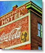 Cameron Patterson Hotel Metal Print