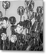 Camille's Tulips - Version 4 Metal Print