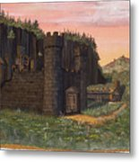 Camlochlin Castle Metal Print by James Lyman