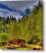 Camp 18 Railroad Car Metal Print