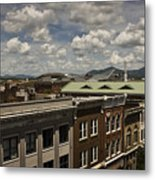 Campbell Avenue Rooftops Roanoke Virginia Metal Print