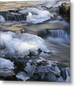 Campbell Waterfalls West Virginia Metal Print