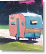 Camped Out Metal Print