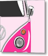 Camper Pink 2 Metal Print by Michael Tompsett