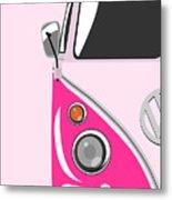 Camper Pink Metal Print
