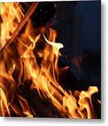 Campfire 2 Metal Print