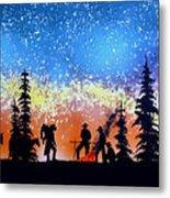 Campfire Tales Metal Print