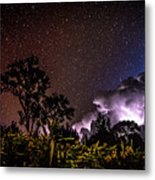 Camping On The Volcano Metal Print
