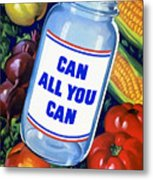 Can All You Can -- Ww2 Metal Print
