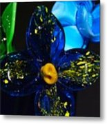 Can You Smell The Flowers Metal Print