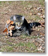 Can You Still See Me Metal Print
