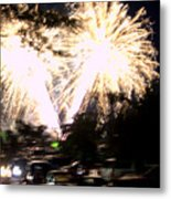Canada Day 150 Lights 2 Metal Print