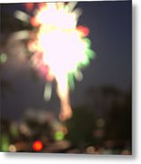 Canada Day 150 Lights 5 Metal Print