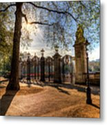 Canada Gate Green Park London Metal Print