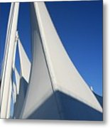 Canada Place Vancouver Metal Print