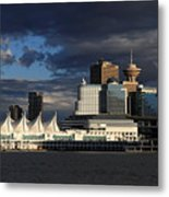 Canada Place Vancouver City Metal Print