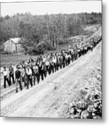 Canada: Unemployed, 1935 Metal Print