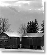Canadian Farm Metal Print