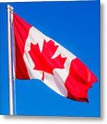 Canadian Flag Metal Print