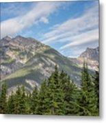 Canadian Rockies Near Kicking Horse Pass Metal Print