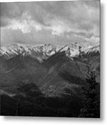 Canadian Rockies Panorama Metal Print