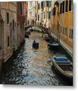 Canal Crusin Metal Print
