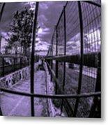 Canal De Lachine Underpass  Metal Print