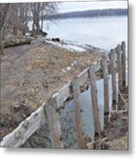 Canal Meets River Metal Print