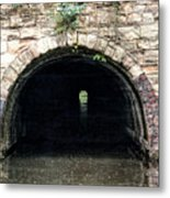 Canal Tunnel 2 Metal Print