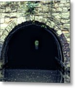Canal Tunnel Metal Print