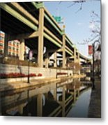 Richmond Canal Walk Through Shockoe Bottom Metal Print