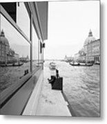 Canale Riflesso Metal Print
