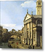 Canaletto Metal Print