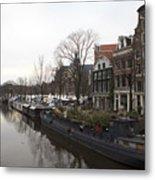 Canals Of Jordaan Metal Print