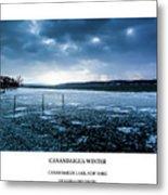 Canandaigua Lake Winter Metal Print
