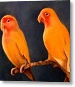 Canaries Metal Print